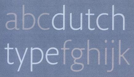 Dutch Type od 010 Publishers