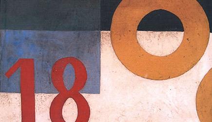 Jan Puni - Systematicko-dadaistická kompozice (1918)