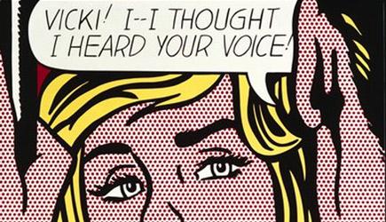 Roy Lichtenstein — Vicki (1964)