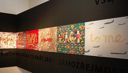 Sagmeisterova výstava Co jsem se zatím v životě naučil