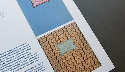 Kniha v českém kubismu
