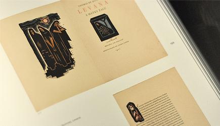 Vidět knihu. Knižní grafika Josefa Čapka