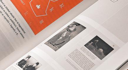 Knihy a typografie: dvojstránka