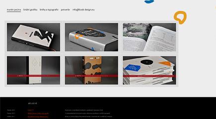 Martin Pecina — typografie a knižní grafika