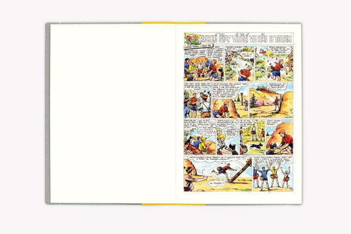 Rychlé šípy — komiksové plakáty
