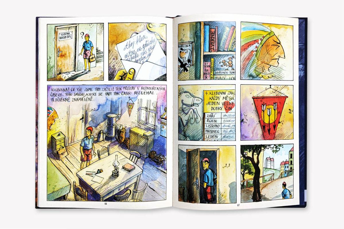 Kniha O Červenáčkovi doslova přetéká odkazy na kanonické příběhy