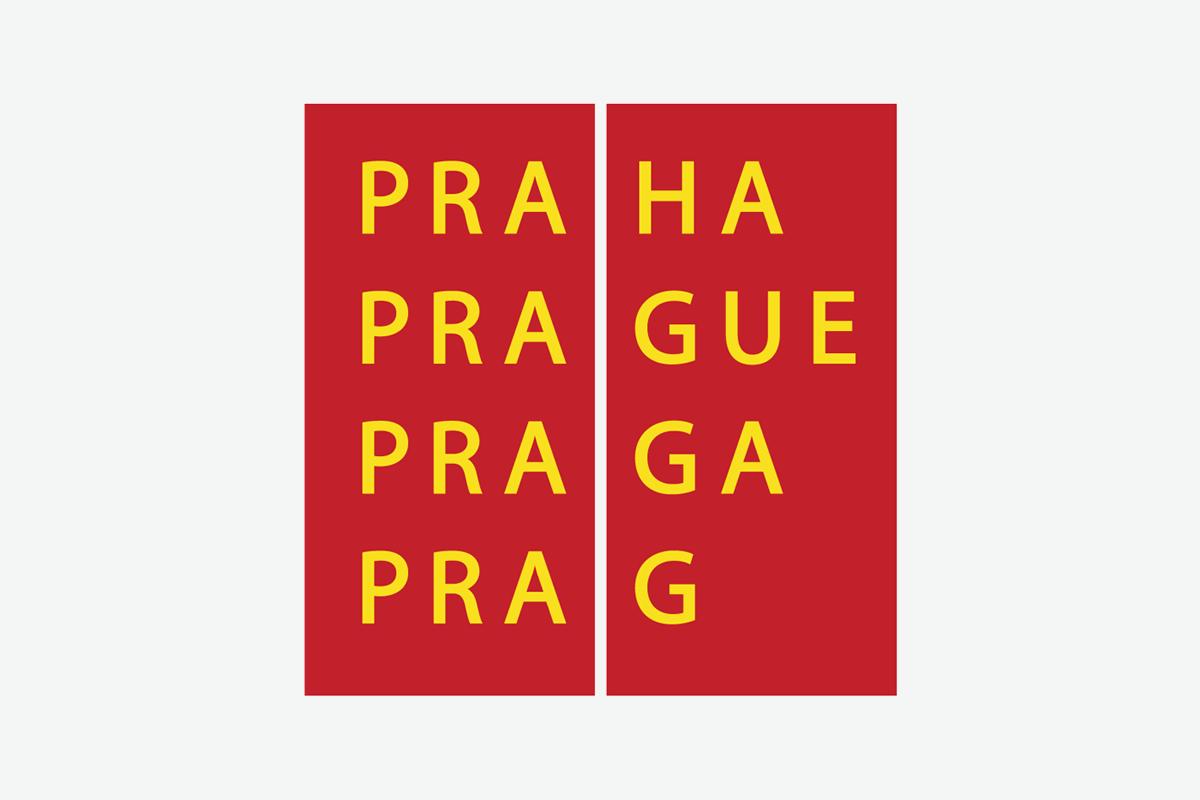 Logo hlavního města Prahy od Studia Najbrt