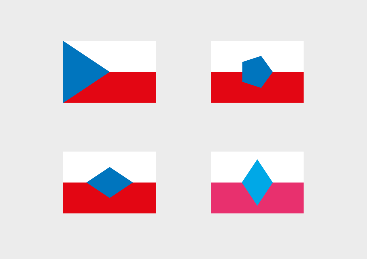 Petr Novaque, česká vlajka
